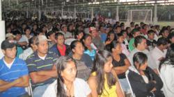Banasa, HIV/AIDS, comdom, HIV prevention, AIDS prevention, health, training, workshop, employess training, Guatemala, banana plantation