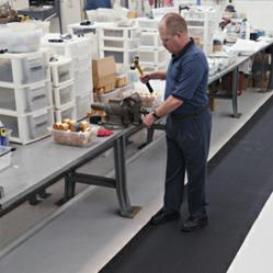 Traction Tread Slip-Resistant, Anti-Fatigue Indoor Matting for Wet or Dry Applications photo