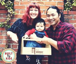 Timothy & Laura Dahl, the founders of Built by Kids, are honored to be nominated for a Webby Award in the family/parenting category