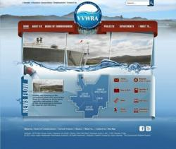 Victor Valley Water Reclamation Authority website powered by VIsion Internet