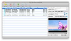 iFunia Mac Video Converter Screenshot