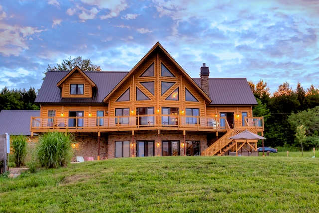 Timber Block Insulated Log Homes Will Raise The Walls Of