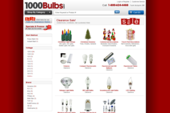 1000Bulbs.com Clearance Page