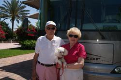 taken at Crystal Lakes RV Resort in Naples, Florida