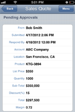 Workflow and Approvals Mobile Apps