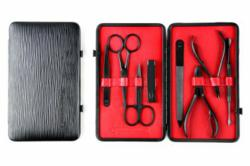 Czech & Speake Black & Red Limited-Edition Manicure Set, £336