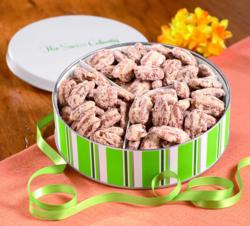 Candy coated pecans make a sweet gift