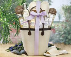 A Day Off spa basket