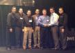 Awards Ceremony with Tony Garzolini-SPWR National Sales Director, Trevor Wright-SPWR Regional Sales Mgr., Ken Fong-SPWR General Mgr.North America, Brian Miliate-BES General Mgr., Keith Randhahn-BES Op