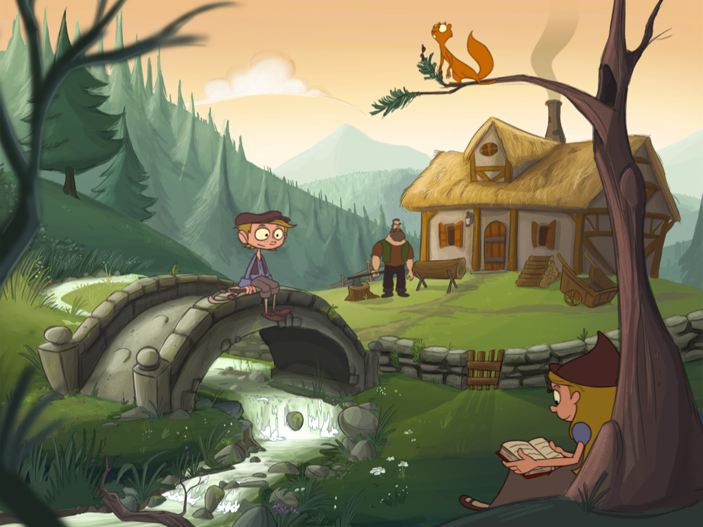 Epic tales hansel and gretel more than just another - Hansel home ...