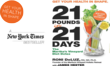 """New York Times Best Selling """"21 Pounds in 21 Days"""" Martha's Vineyard Diet Detox image"""