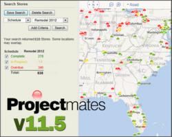 Interactive Map for Construction Project Management