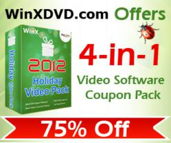 WinXDVD 2012 Holiday Video Pack