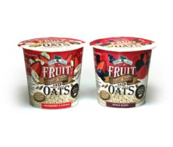 Brothers-All-Natural® FRUIT AND OATS: Mixed Berry and Strawberry-Banana