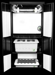 The SuperCloset Deluxe 3.0 Stealth Grow Box Hydroponic Cabinet