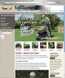 TurfEx Website