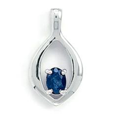 Rhodium plated sterling silver jewelry is easy to maintain, requiring very little care.