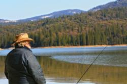 The annual Fishing Derby on Bass Lake has a total prize purse worth $55,000 www.yosemitethisyear.com