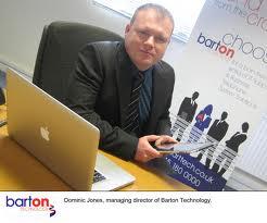 Dominic Jones of Barton Technology