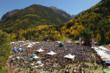 Thousands of people gather in Telluride Town Park for the Telluride Blues & Brews Festival