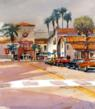 "William Dunn ""Santa Barbara - Just Off State Street"""