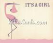New 'It's a Girl' new baby ecard from www.katiescards.com