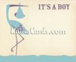 New 'Its a Boy' new baby e card from www.katiescards.com
