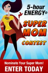 5-hour ENERGY® Super Moms
