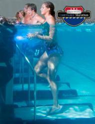 underwater running, underwater treadmills, HydroWorx underwater marathon