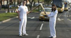 Dress Rehearsal for Olympic Torch Relay takes place today