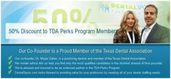 Dentalspots.com endorsed by TDA Perks