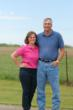 Ron and Deb Moore of the Illinois Farm Families