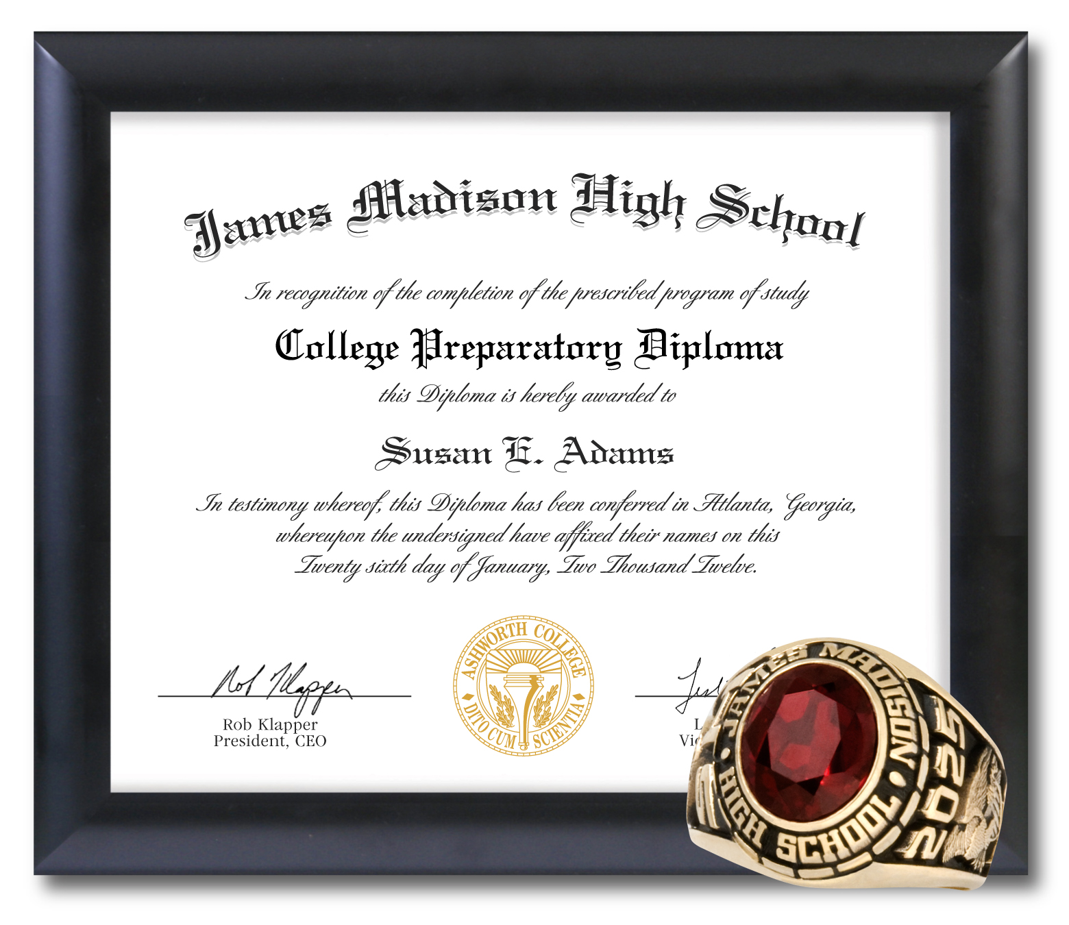 montgomery job corps james madison high school graduate high jmhs graduates receive an official james madison high school class ring