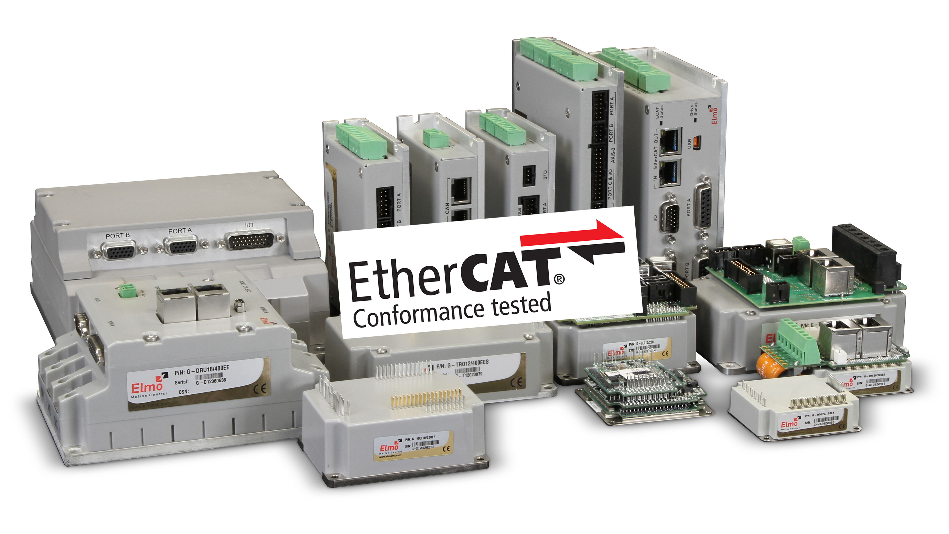Elmo motion control gains ethercat approval Elmo motor controller