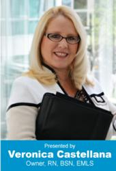 Veronica Castellana, RN MARKET Owner, Author, Renowned Educator, Practicing Legal Nurse Consultant, and Industry Leader in Modern Legal Nurse Consultant Techniques.