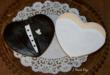 Bride and Groom Vegan Sugar Cookies decorated with vegan fondant.