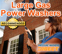 best large gas pressure washer, best large gas power washer, top large gas pressure washers, best large gas pressure washers