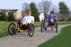 Recumbent Trikes perfect for exercise, rehabilitation, special needs and fun!