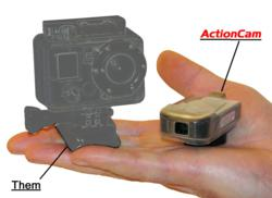 ActionCam pictured next to the competition