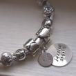 New Hand Stamped Charm Beads for European Bead Bracelets by Katie's Charms