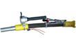 The BLG-LED-4REX explosion proof LED blasting gun light produces intense illumination.