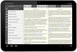 LDS Scriptures for Tablets Screenshot