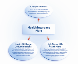 Different Types of Health Insurance Info-graphic