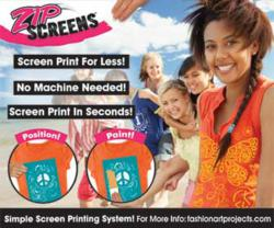 Design a t-shirt with Zip Screens™