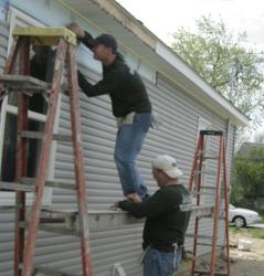 Jo-Ann Fabric and Craft Stores partnered with Habitat for Humanity during National Volunteer Week