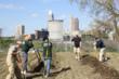 Jo-Ann Team Members at the Cuyahoga County Board of Developmental Disabilities' Ohio City Urban Farm