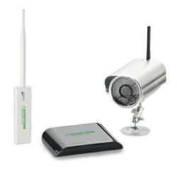 The Ayrstone AyrScout™ Starter Package features the AyrScout Outdoor Camera. Easy to set up, the Camera configures with the AyrMesh™ Router and Hub to create a long-range WiFi and monitoring system.