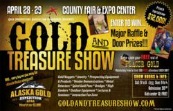 Gold & Treasure Show Flyer