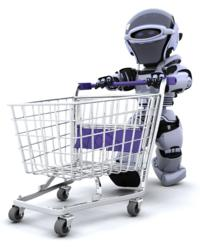 Robot, Shopping Trolley