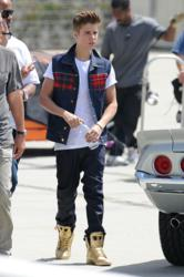 Justin Bieber Filing Boyfriend Music Video